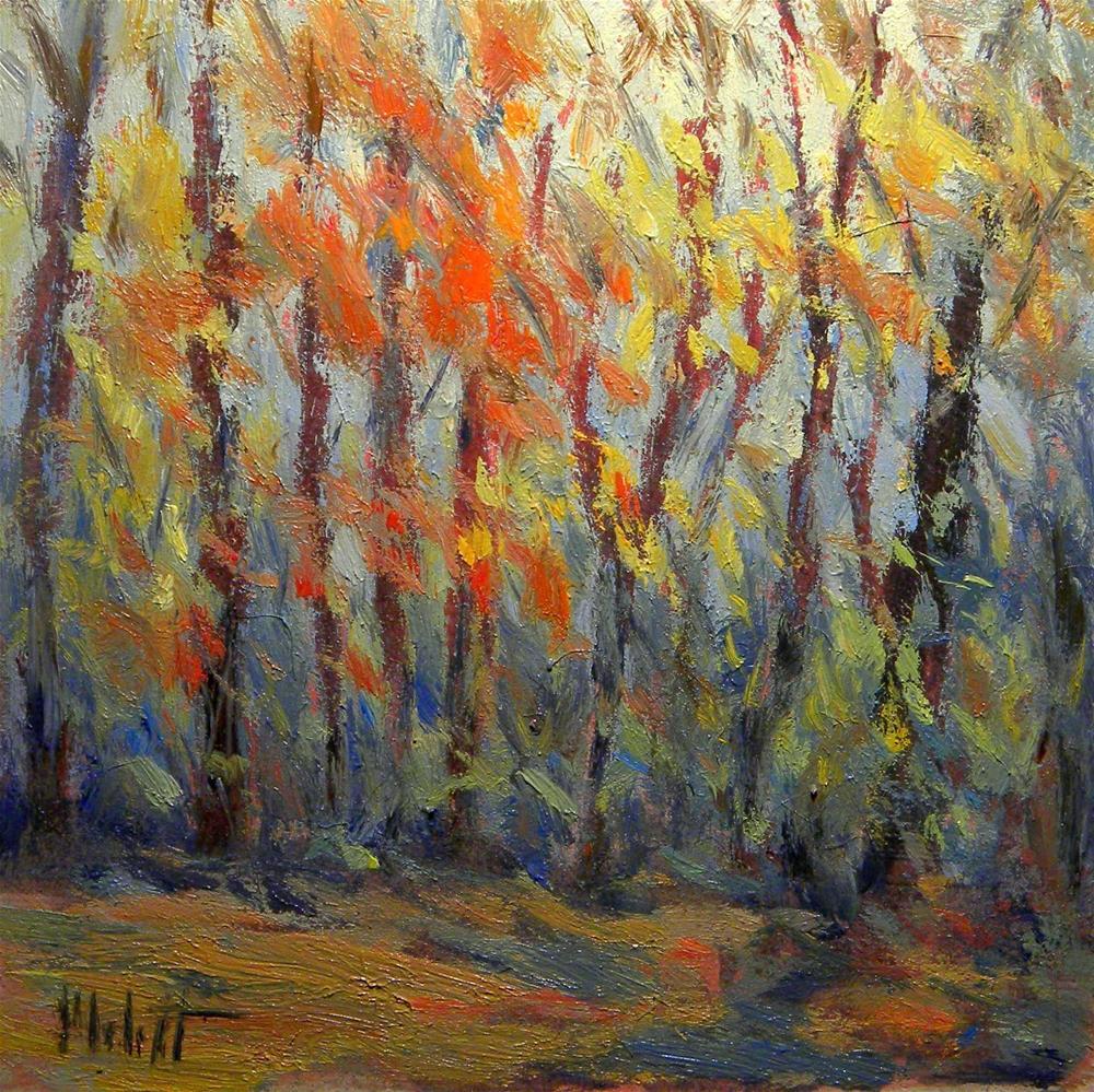 """""""Autumn Fall Colors Impressionist Oil Painting Heidi Malott"""" original fine art by Heidi Malott"""