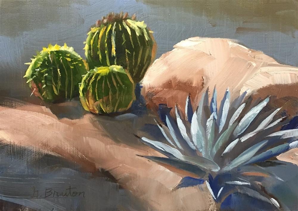 """Succulents"" original fine art by Gary Bruton"