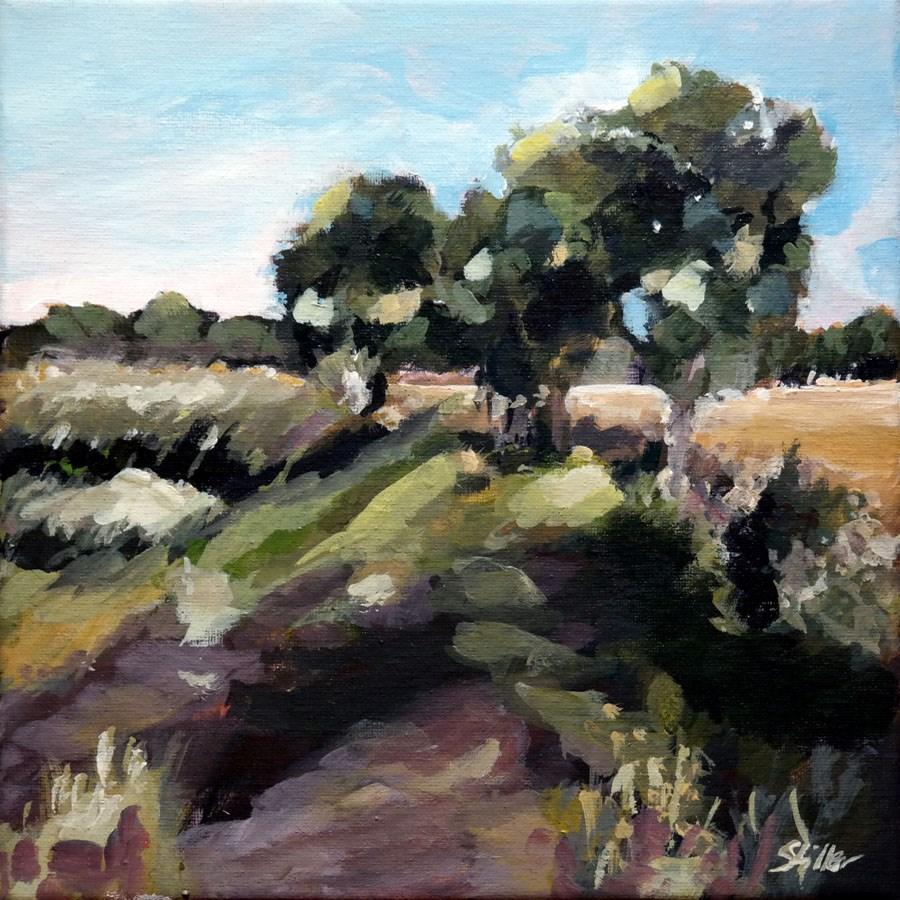 """1450 In the Countryside"" original fine art by Dietmar Stiller"