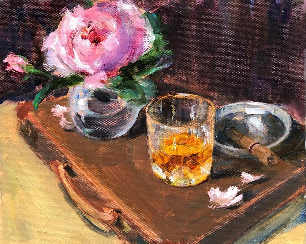 """Une Compagne"" original fine art by Eugenia Alekseyev"