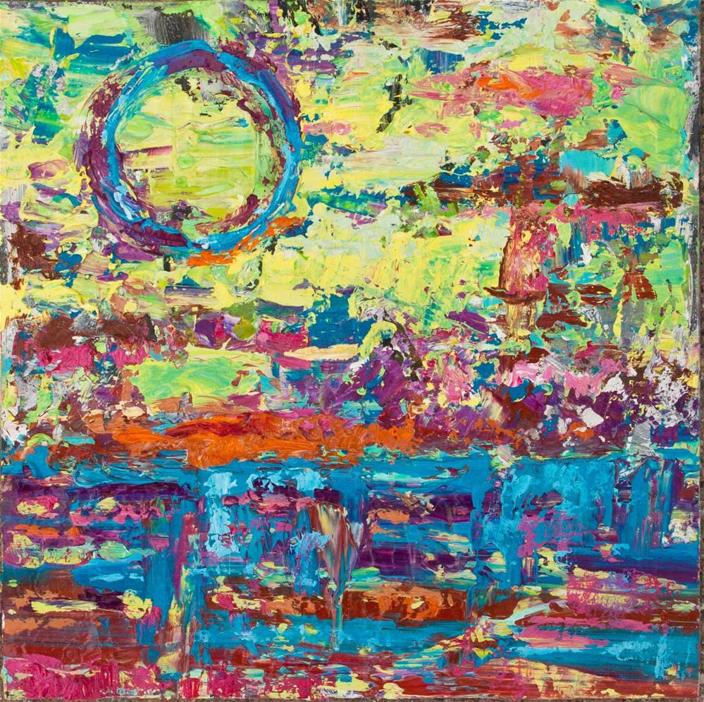 """Brighter Days, Job 11:17"" original fine art by Cynthia Mahlberg"