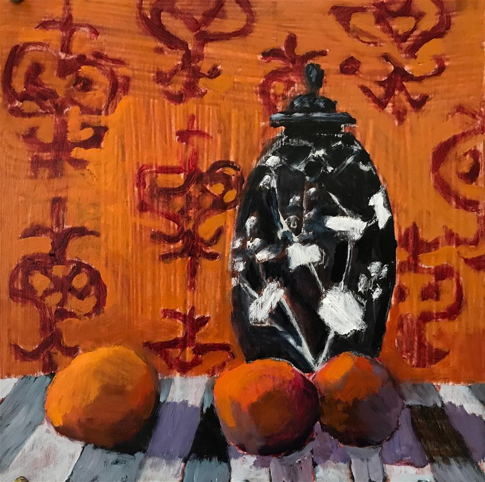 """Good Karma"" original fine art by Pamela Hoffmeister"