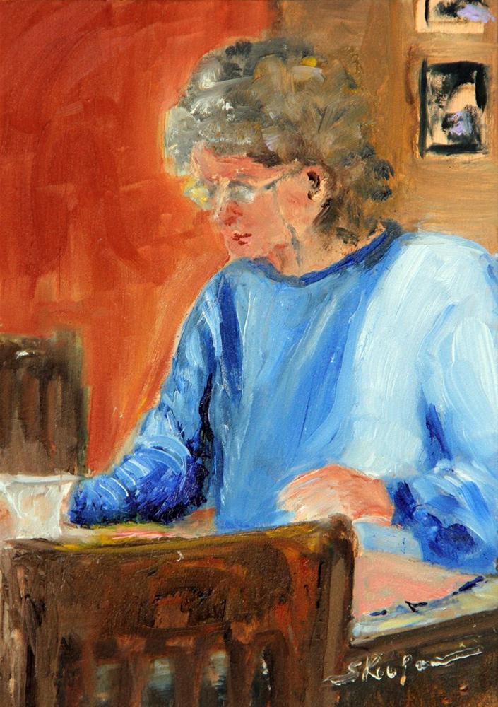 """Morning Thoughts"" original fine art by Shelley Koopmann"