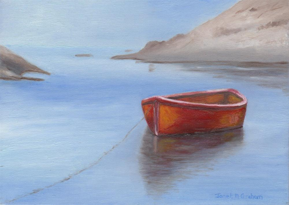 """Tranquil Waters"" original fine art by Janet Graham"
