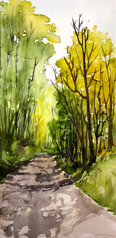 """sunny path"" original fine art by Betty Argiros"