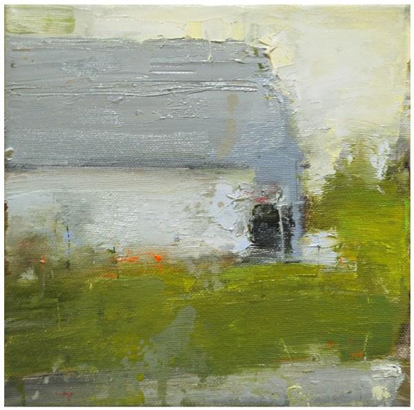 """Quebec barn 4.5.12"" original fine art by Steven Goodman"