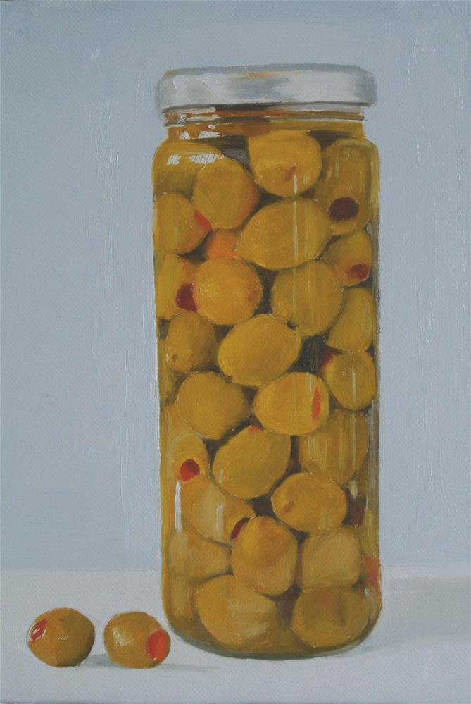 """Olive Jar"" original fine art by James Coates"