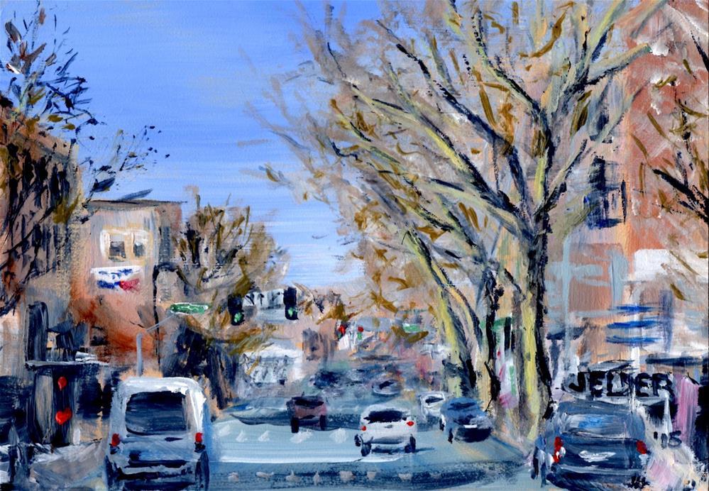 """Holly St., B'ham No. 16"" original fine art by Judith Elder"