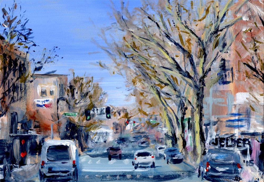 """Holly St., B'ham No. 16"" original fine art by Judith Elder"