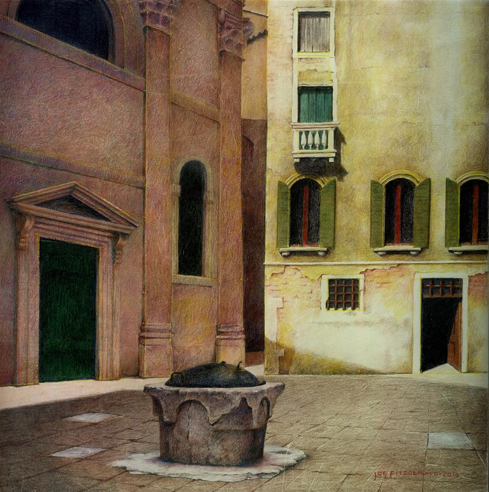 """Campo San Beneto"" original fine art by Joe Fitzgerald"