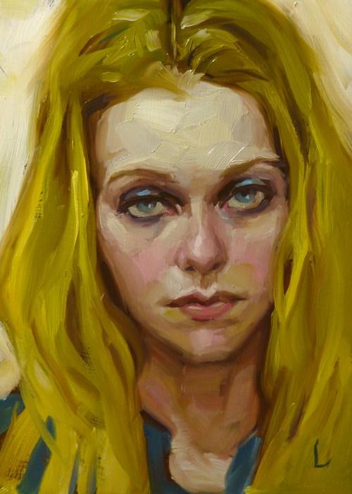 """Glare"" original fine art by John Larriva"