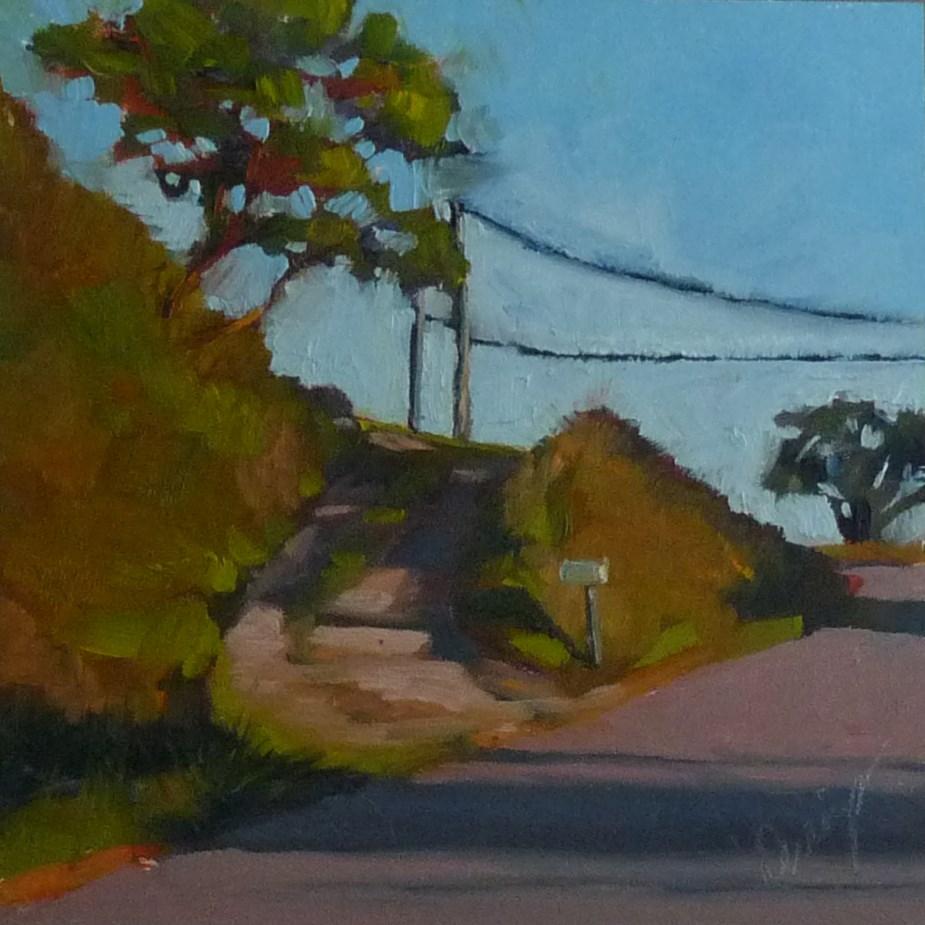 """The Rental"" original fine art by Sharman Owings"