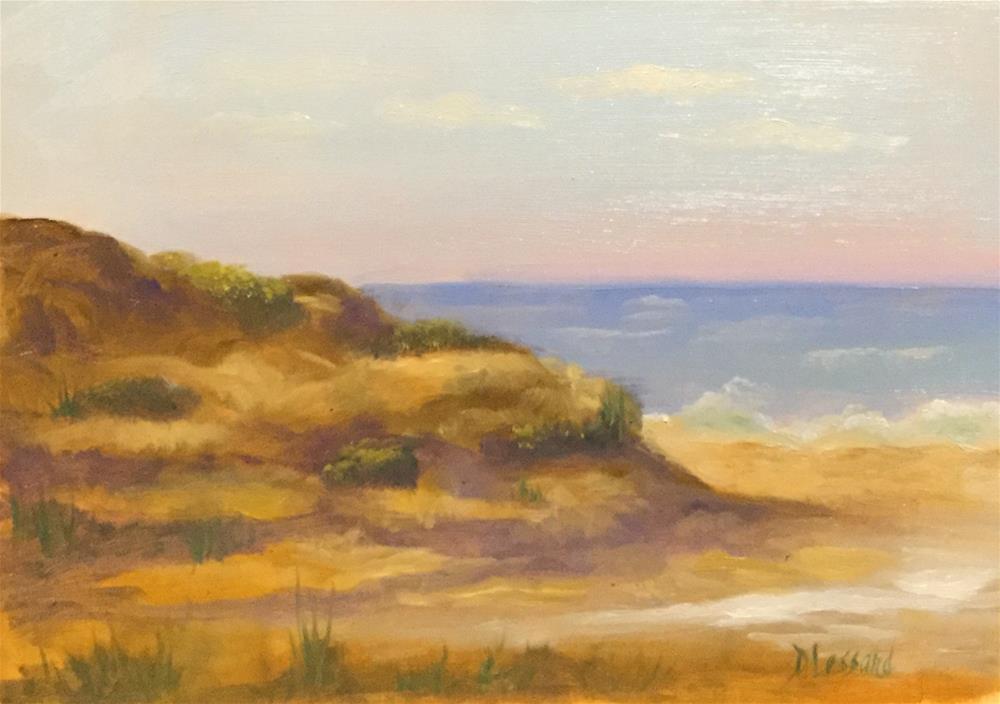 """Rocky Coast"" original fine art by Dee Lessard"