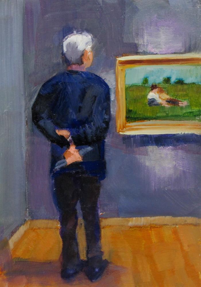"""""""Quiet Corner"""" original fine art by Christine Holzschuh"""