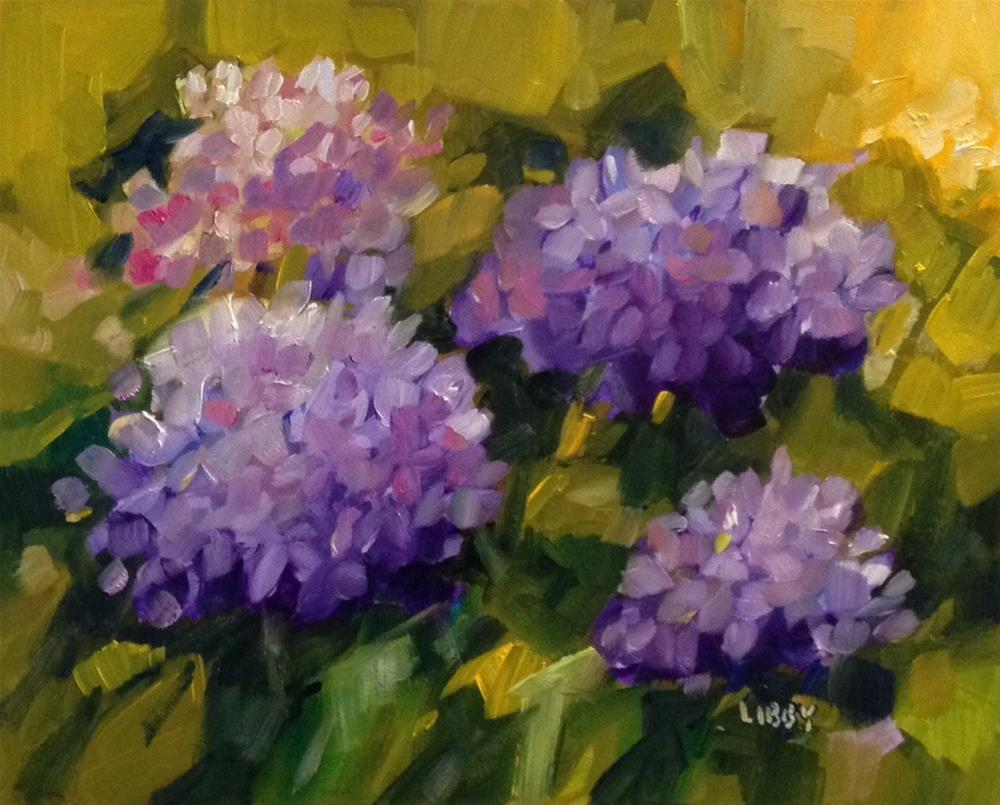 """""""Just a Glance"""" original fine art by Libby Anderson"""