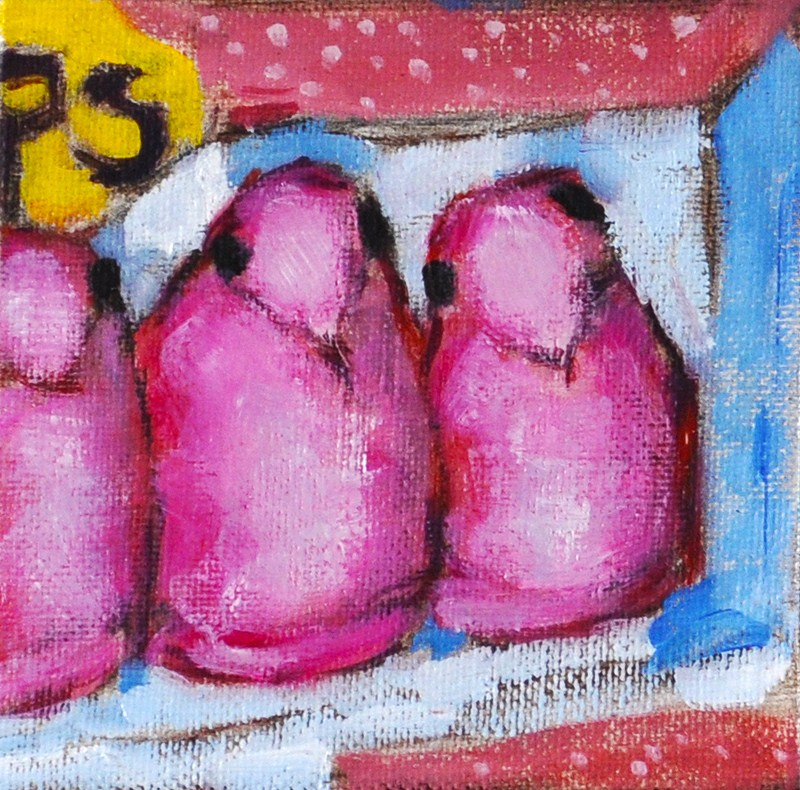"""Pink Easter Peeps"" original fine art by Kevin Inman"