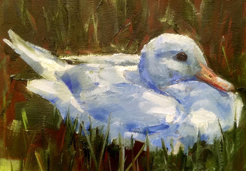 """A Sitting Duck"" original fine art by Gary Bruton"