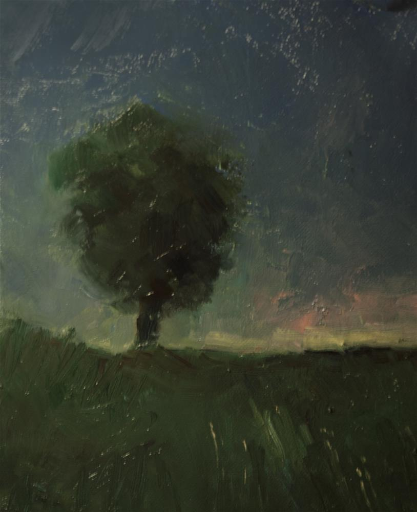 """Single Tree"" original fine art by Andre Pallat"