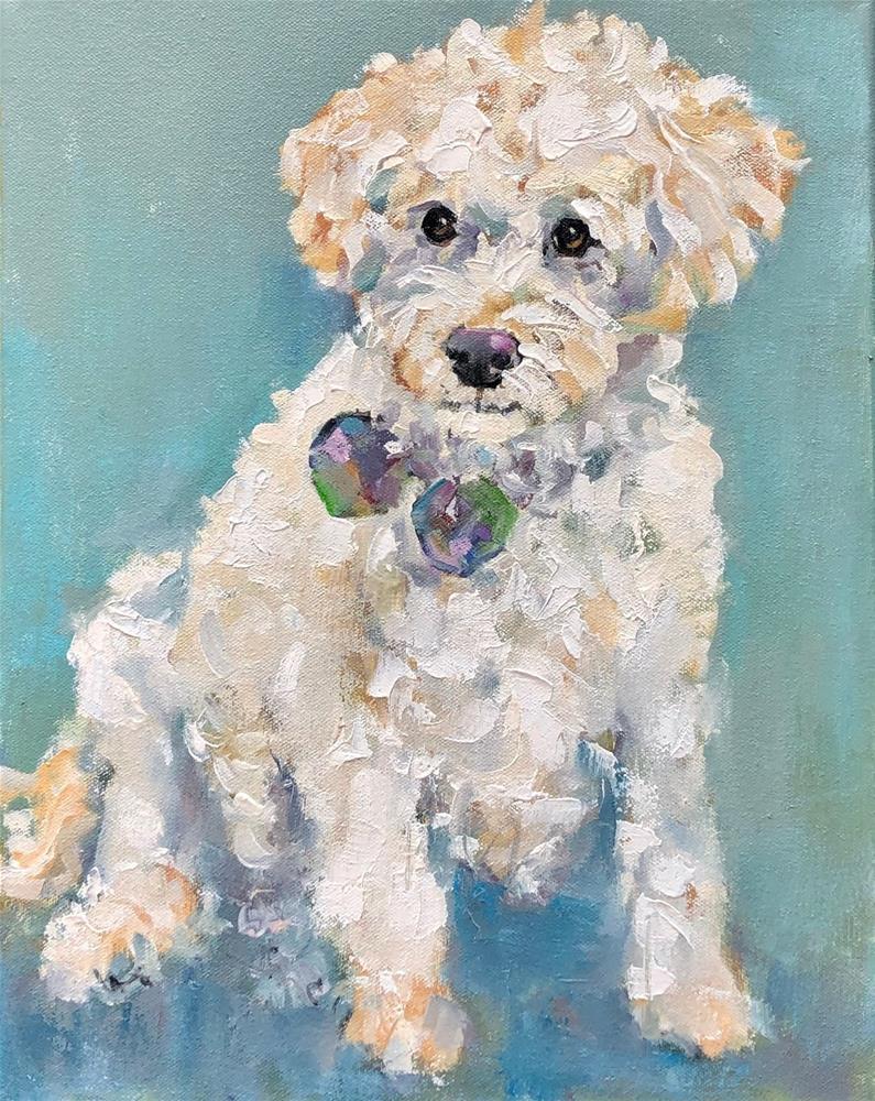 """zoey"" original fine art by Carol Carmichael"