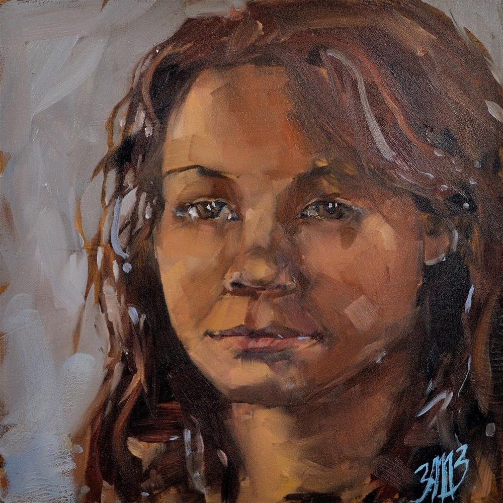 """Emma 2"" original fine art by Brienne M Brown"