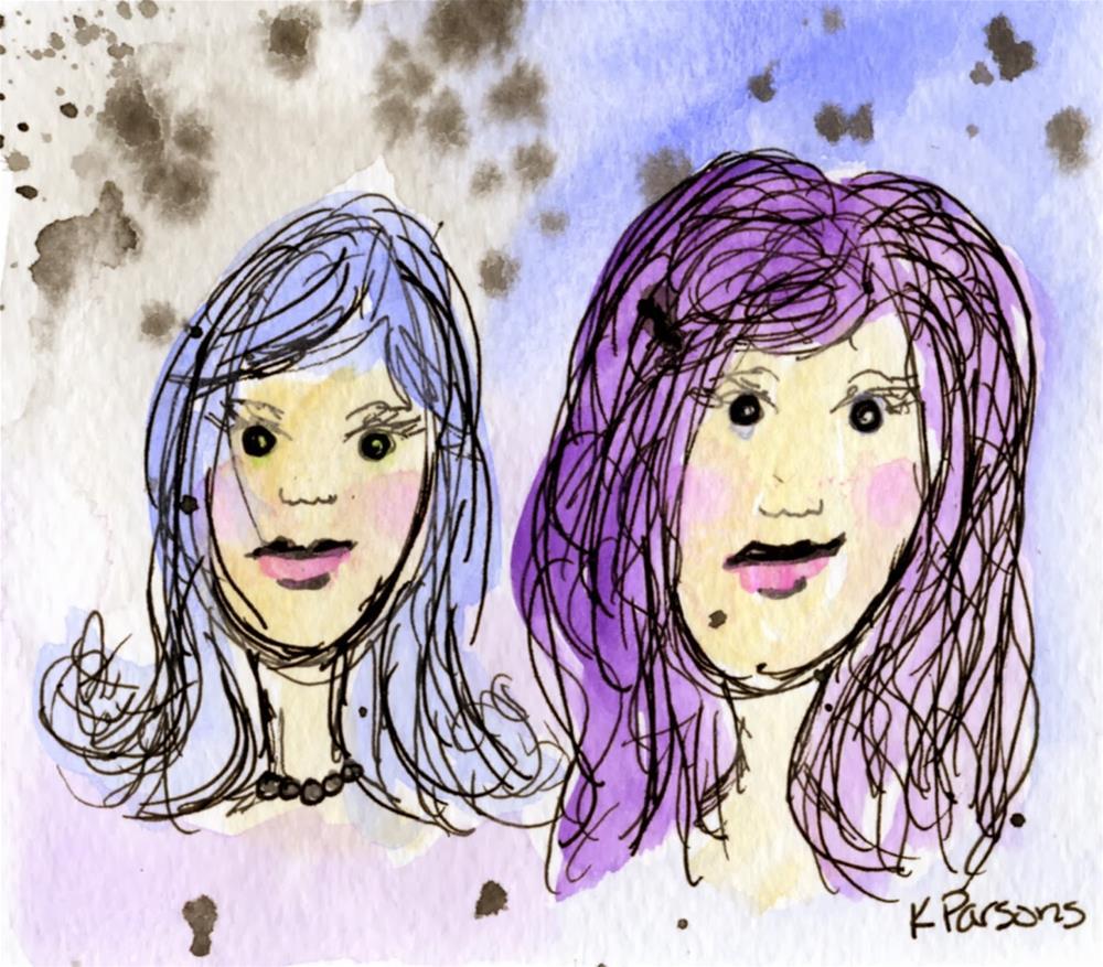 """Absolutely Fabulous"" original fine art by Kali Parsons"