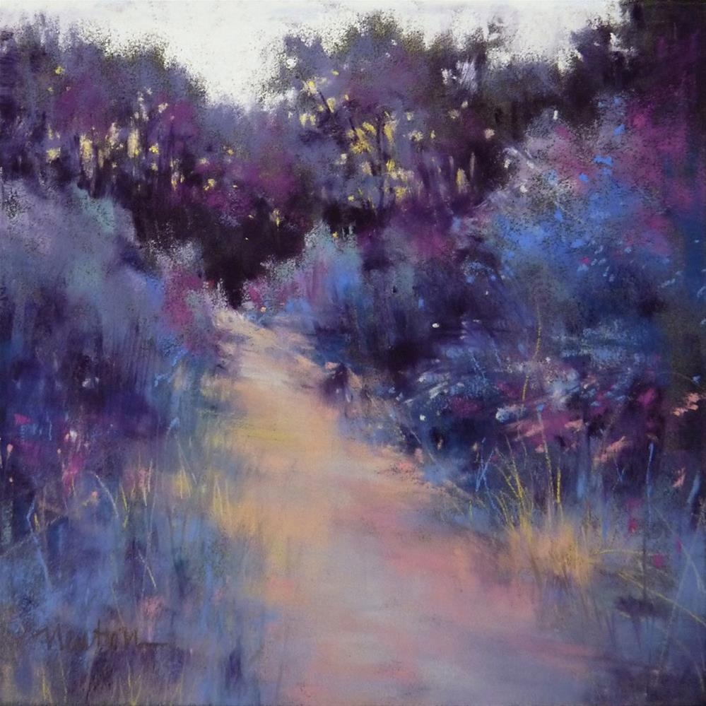 """Twilight"" original fine art by Barbara Benedetti Newton"