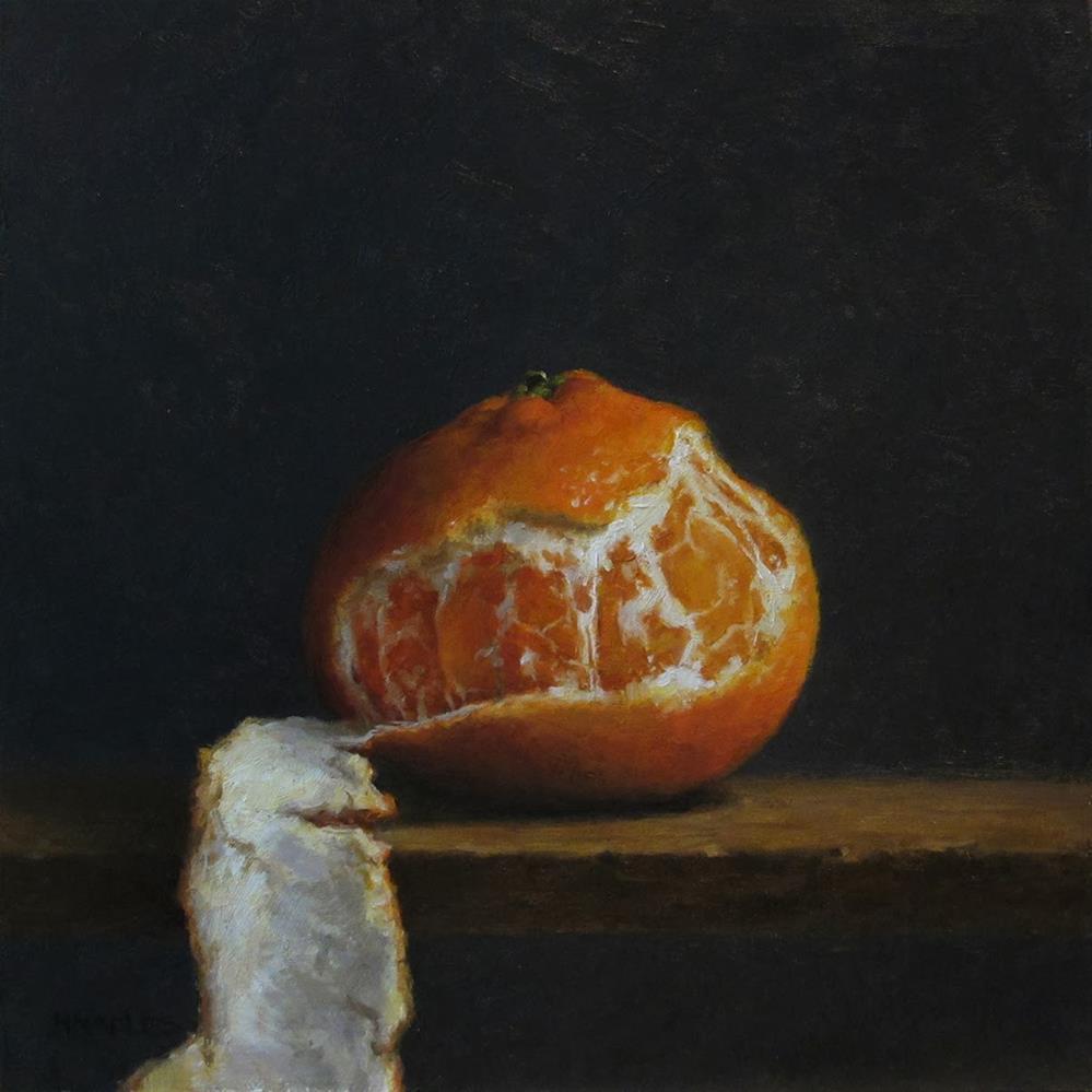 """Tangerine Glow"" original fine art by Michael Naples"