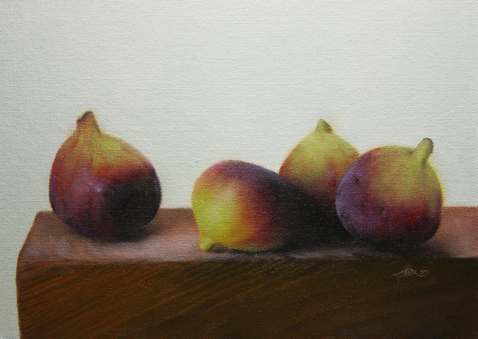 """""""Fig Lecture"""" original fine art by Jonathan Aller"""