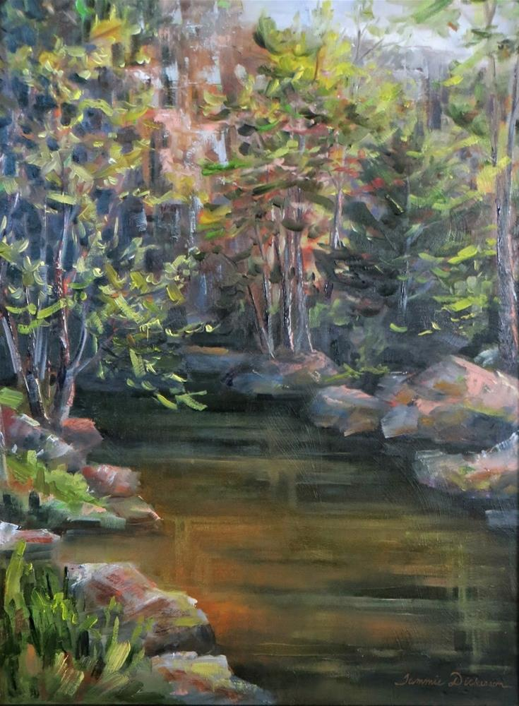 """Majestic View"" original fine art by Tammie Dickerson"