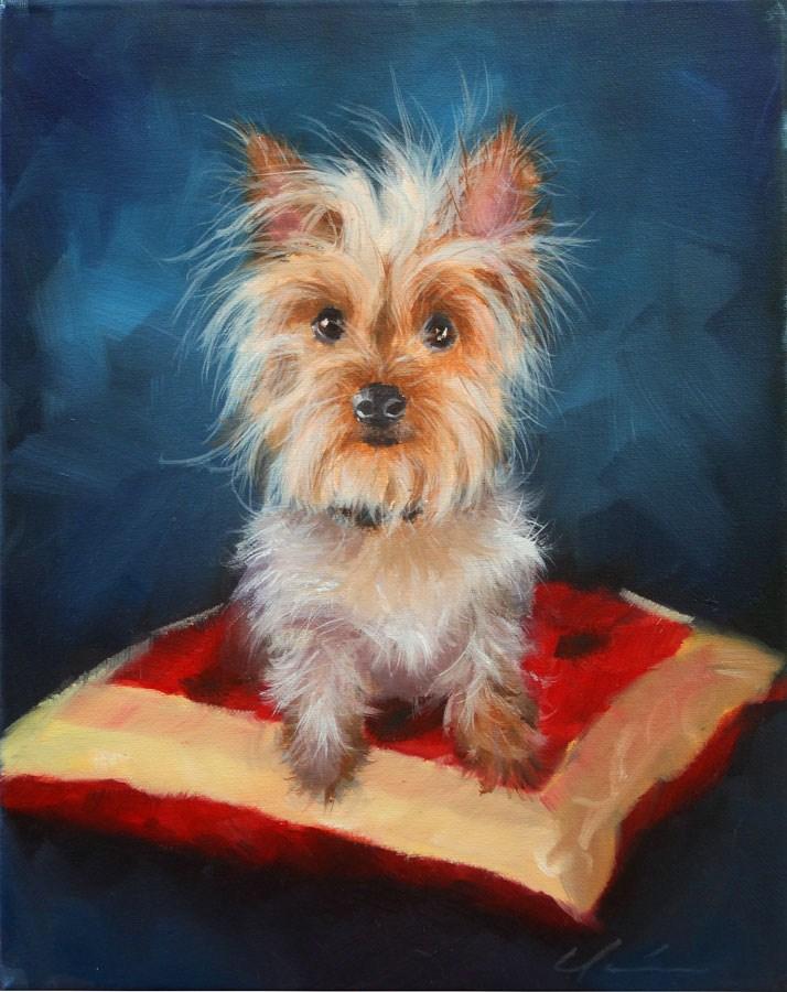 """""""Millie"""" original fine art by Clair Hartmann"""