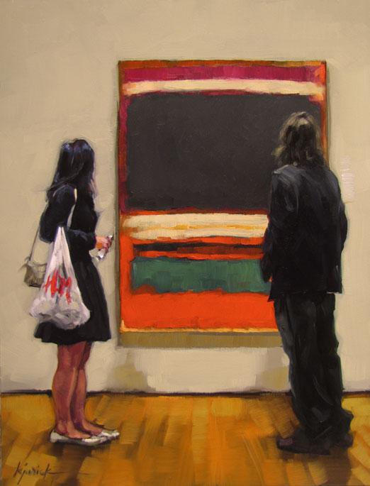 """It's Subjective"" original fine art by Karin Jurick"