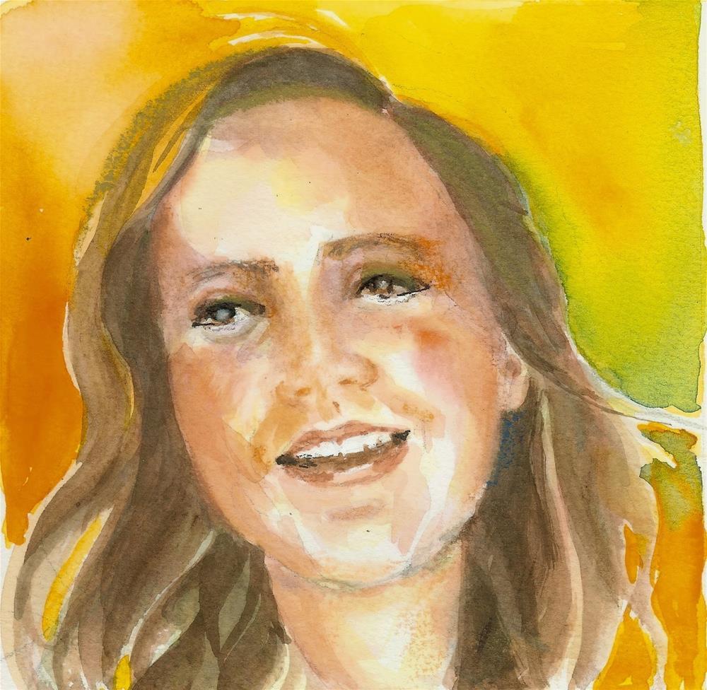 """""""Taylor In Sunshine"""" original fine art by Reveille Kennedy"""