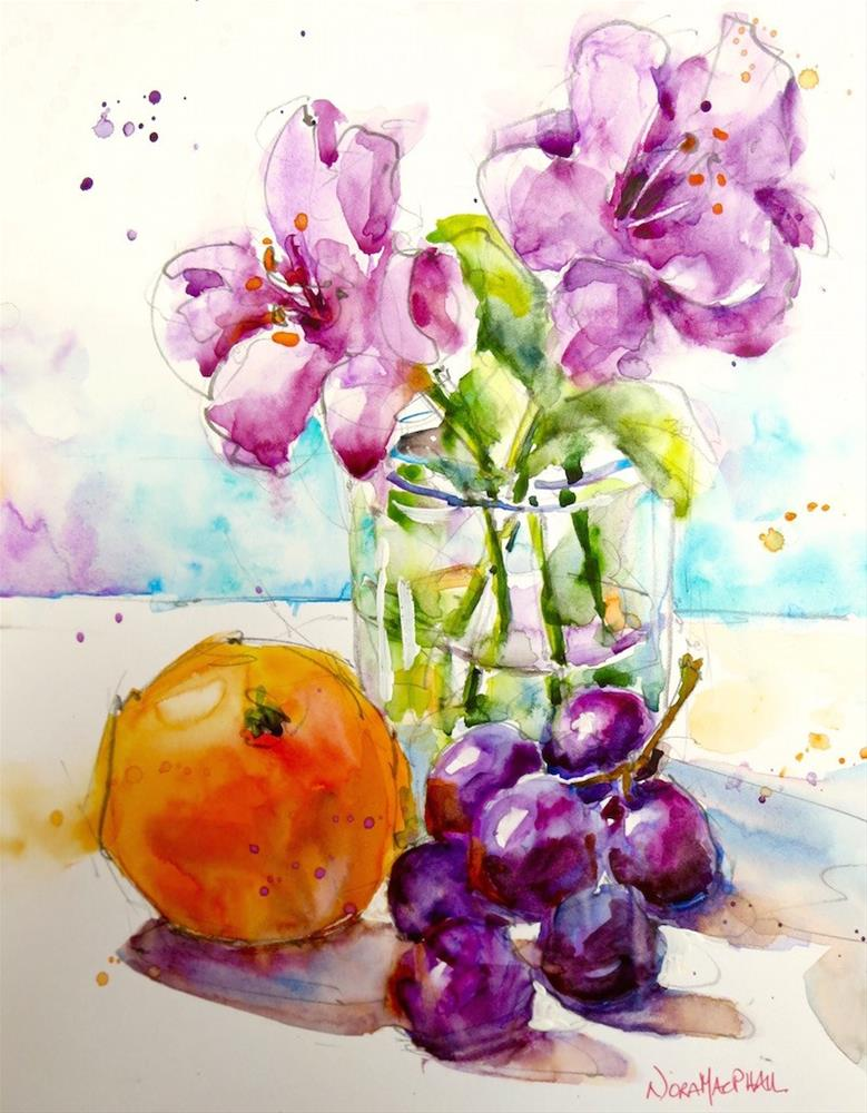"""breathe easy"" original fine art by Nora MacPhail"