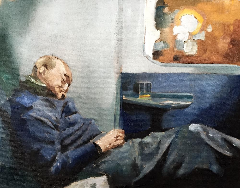 """The Sleeper"" original fine art by James Coates"