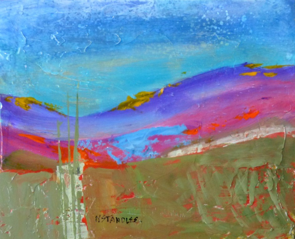 """Reach Out 15018"" original fine art by Nancy Standlee"