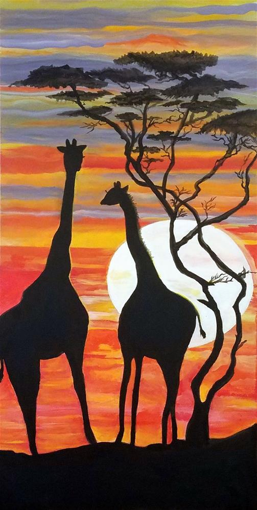"""""""Just The Two of US"""" original fine art by Susan Belisle"""