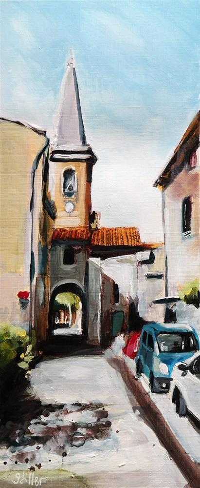 """2611 Saint-Didier"" original fine art by Dietmar Stiller"