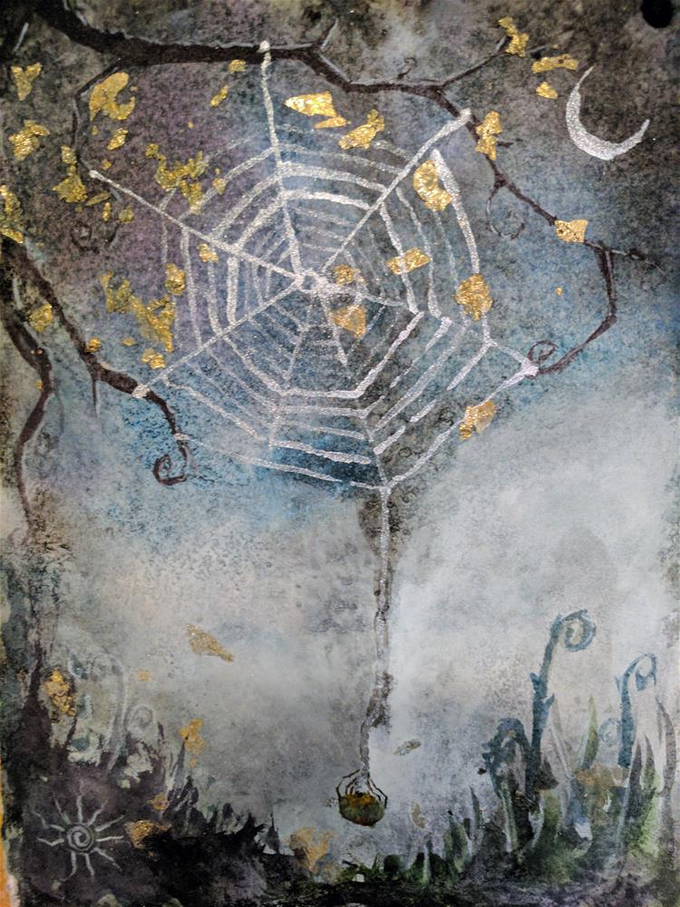 """Dream Weaver"" original fine art by Kathleen Barnes"
