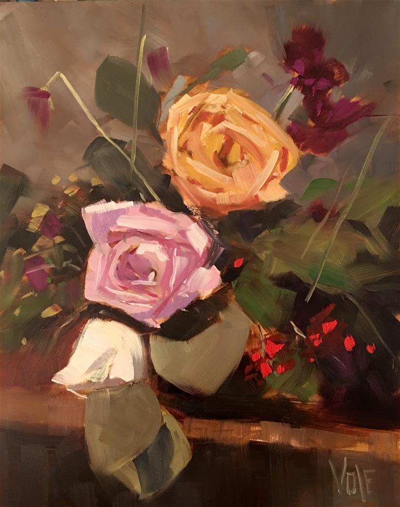 """#406 Fading Fast"" original fine art by Patty Voje"
