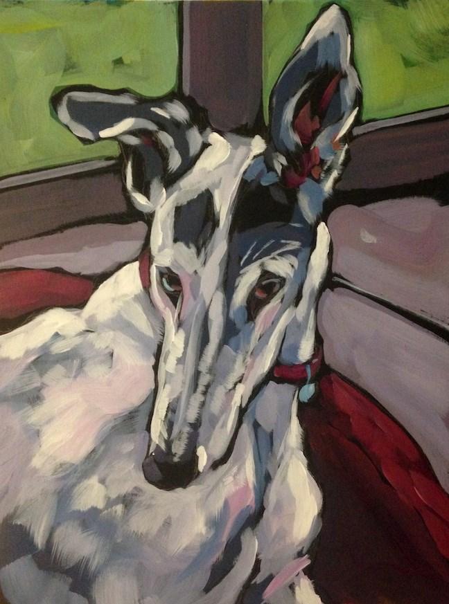 """""""Cassie"""" original fine art by Kat Corrigan"""
