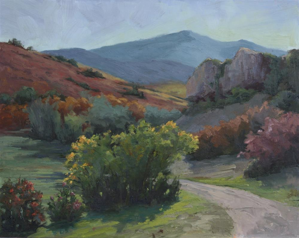 """Road to the Ranch"" original fine art by Sheila Marie"