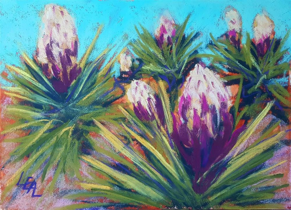 """""""Yucca Promise"""" original fine art by Anna Lisa Leal"""