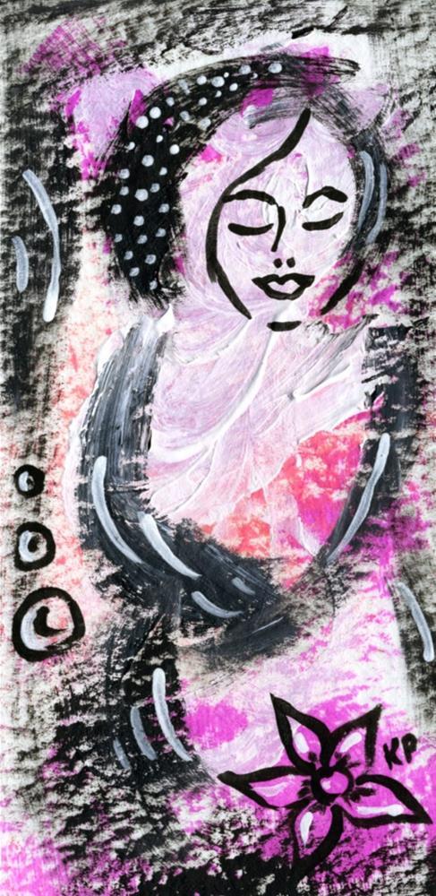 """""""Good Vibrations"""" original fine art by Kali Parsons"""