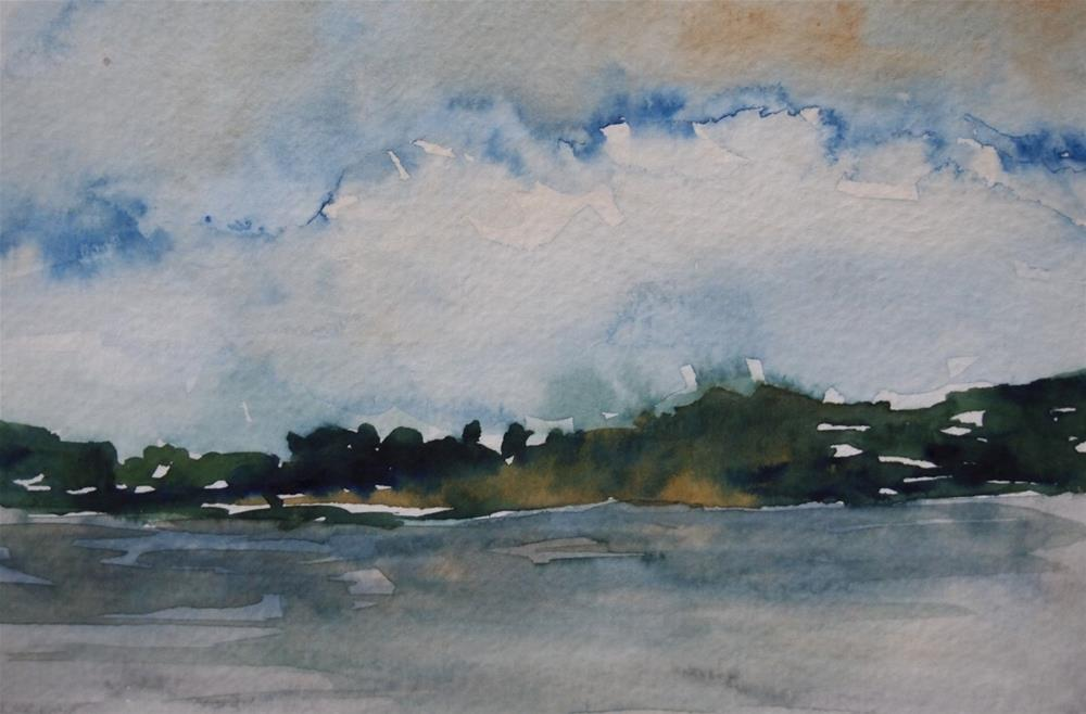 """Chesapeake Study IV"" original fine art by Amy Bryce"