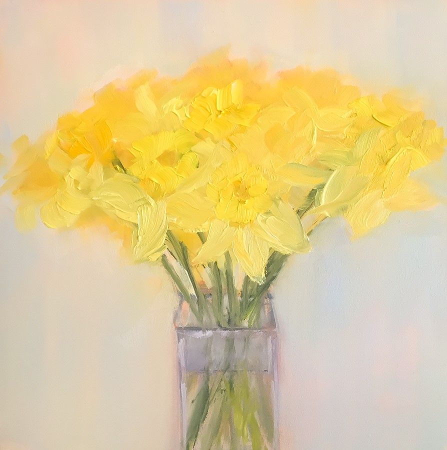 """#132 - Daffodils"" original fine art by Sara Gray"