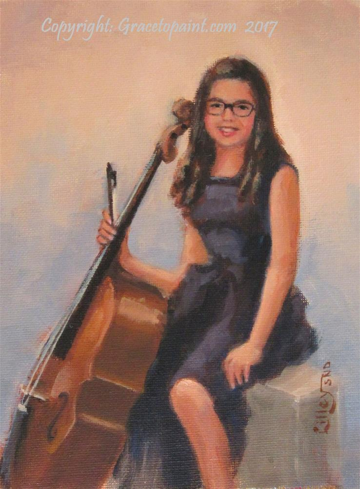 """Julianne"" original fine art by Maresa Lilley"