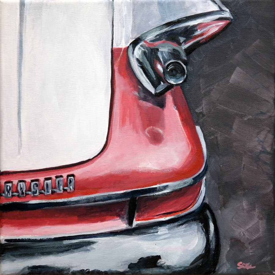 """1216 Chrysler"" original fine art by Dietmar Stiller"