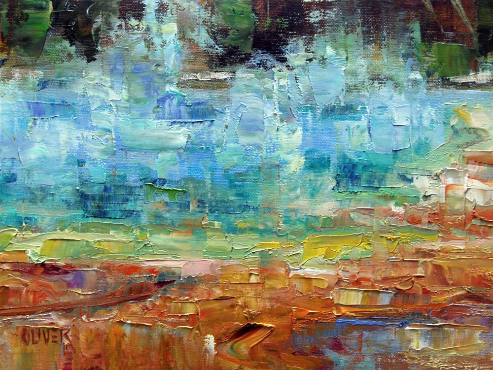 """The Grand Prismatic Pool - Yellowstone"" original fine art by Julie Ford Oliver"