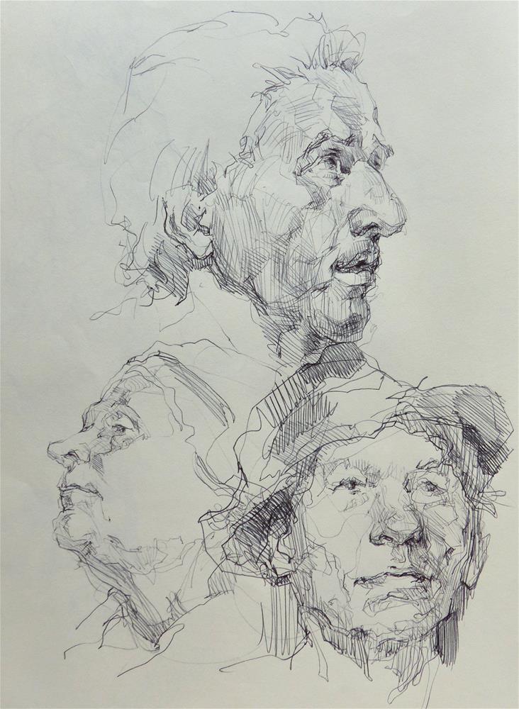 """sketchbook95"" original fine art by Katya Minkina"