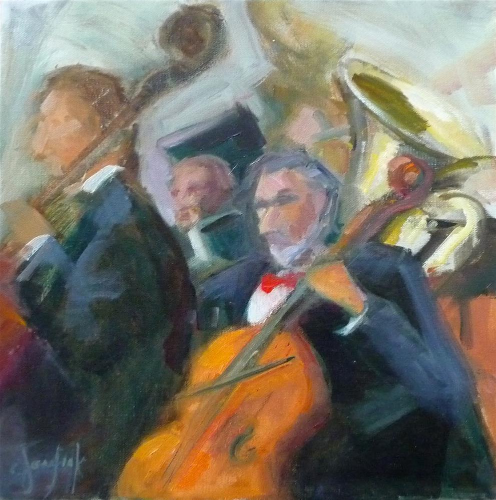 """""""Composition"""" original fine art by Carol Josefiak"""